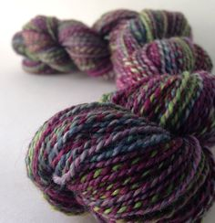 NEW COLORWAY // Ruination // melancholy and oh so lovely... DyedInTheWoolYarns, $29.00