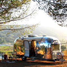 dream home camper airstream vintage interior design small space living west elm style decorate