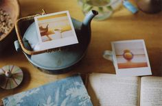 heating polaroids by flypeterfly, via Flickr