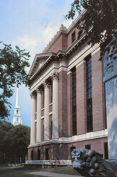 Harry Elkins Widener Memorial Library, Harvard University