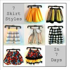little girl skirts