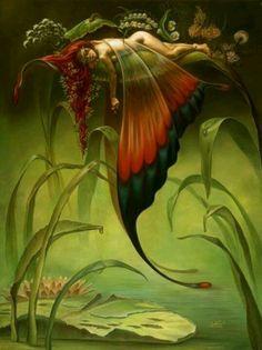 Sleeping Butterfly Faerie