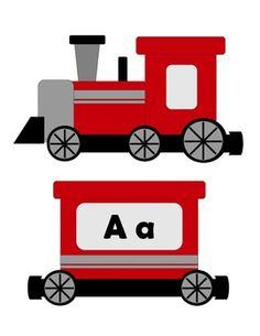 Alphabet Train ABCs