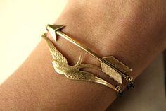Hunger Games Wedding Jewelry Katniss mockingjay bracelet