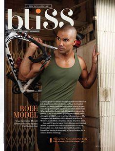 Looking good has always been part of  Shemar Moore's job description- Watch! Magazine