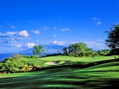 Makena Golf Course, Maui, Hawaii, USA.