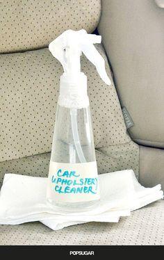 DIY car seat cleaner!