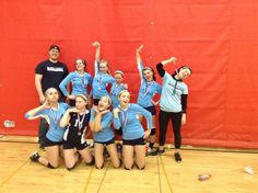 #7 Crazy team pic. Congrats to Hannah Peksa, she qualifies for the grand prize!