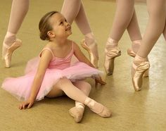 Little ballerina: Dreaming of being just one of the girls