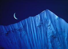 Moon over Tibet