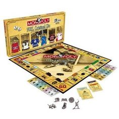 Original Six Monopoly.  We so need this in our house!!!! @Emily Ferrara