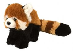 Cuddlekins Mini Red Panda (8-inch) at theBIGzoo.com, a toy store featuring 3,000+ stuffed animals. red pandas, mini red, toy store, cuddlekin mini, panda 8inch