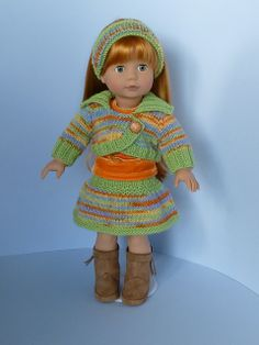 Ravelry: Bolero for 18-inch Dolls pattern by Janice Helge.