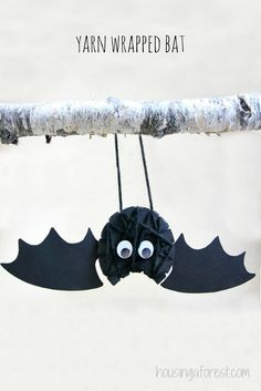 Yarn Wrapped Bat | Housing a Forest