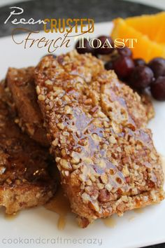Pecan Crusted French Toast