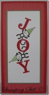 Stamping Still (blog) Barrel Of Christmas Monkeys