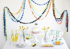 Science party ideas | Photos by Scott Clark | see more on 100 Layer Cakelet.