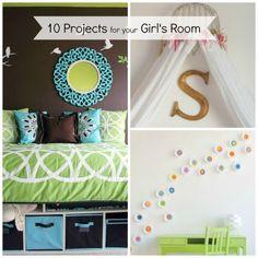 little girls, little girl bedrooms, bedroom projects, bedroom decor, 10 project, room idea, little girl rooms, bed canopies, project ideas