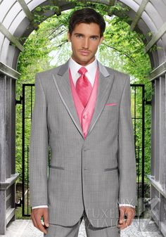 Love grey tuxedos!