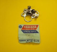 New Yamaha YDS3 Point Contact Breaker (Points) Genuine OEM P/N 156-81222-21