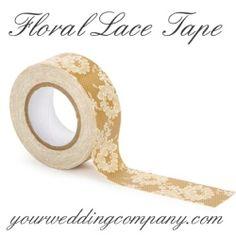 yourweddingco lace wedding decorations