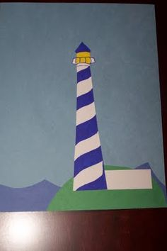 L is for lighthouse letter crafts, crafts for letter l, lighthouse craft preschool, letter l crafts, l crafts for preschool