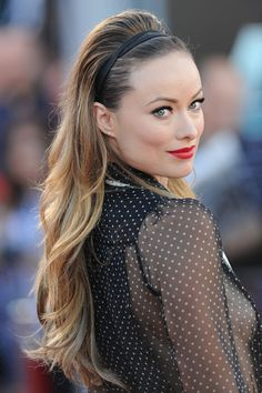 Beautiful hair - Olivia Wilde