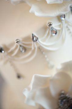 Sparkling 50th Wedding Anniversary Cake Ã'Â« Susies ...