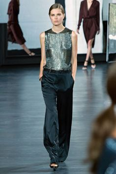 Jason Wu spring 2015 evening top and pants