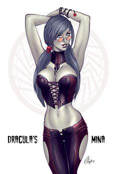 Dracula's Mina by Elias Chatzoudis *