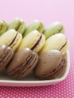 Chocolate-Hazelnut Macaroons