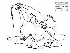 duck shower, via Flickr.