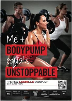 Les Mills - Body Pump ...never thought I'd be one to enjoy som like this! Love love it