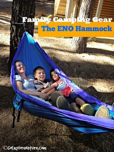Family Camping Gear: The ENO Hammock from GoExploreNature.com