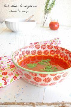 Dalmatinska juha od rajčica/Dalmatian home grown tomato soup