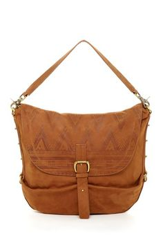 Cynthia Vincent Leather Tribal Satchel Bag on HauteLook