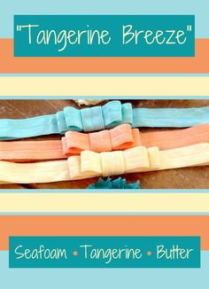 great way to use extra fold over elastic