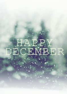 "Christmas...  ""Happy December"""