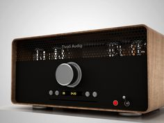 Tivoli Audio by Such + Such. Vintage style tube radio.