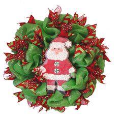 holiday wreath, ribbon wreath, mesh wreaths