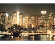 New York City-Themed Bedroom Wallpaper ::