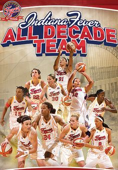 2009 - Indiana Fever All-Decade Team included:  Tully Bevilaqua  Tammy Sutton-Brown   Tamika Catchings  Stephanie White  Anna DeForge  Tan White  Katie Douglas  Tamika Whitmore  Ebony Hoffman  Natalie Williams