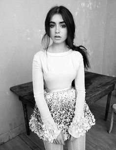 Lily Collins. <3
