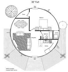 Yurt Plans On Pinterest