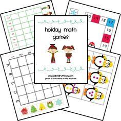 Holiday Math games