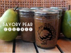 Savory Pear Chutney Recipe - Putting Up With Erin