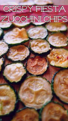 Crispy Fiesta Zucchini Chips! –