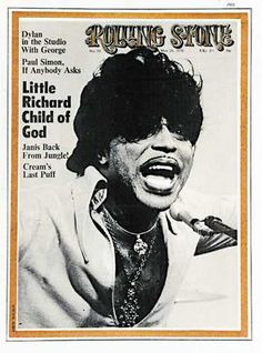 """Little Richard """"Rolling Stone"""" cover"""