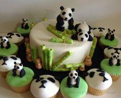 Panda Cake & Cupcakes
