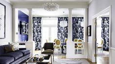 Designer Crush: @catherine gruntman gruntman Wong // living rooms, dining rooms, blue rooms